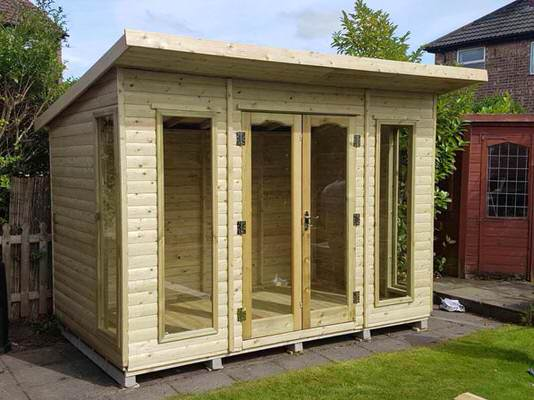 Timberland sheds yorkshire homepage for Garden rooms yorkshire