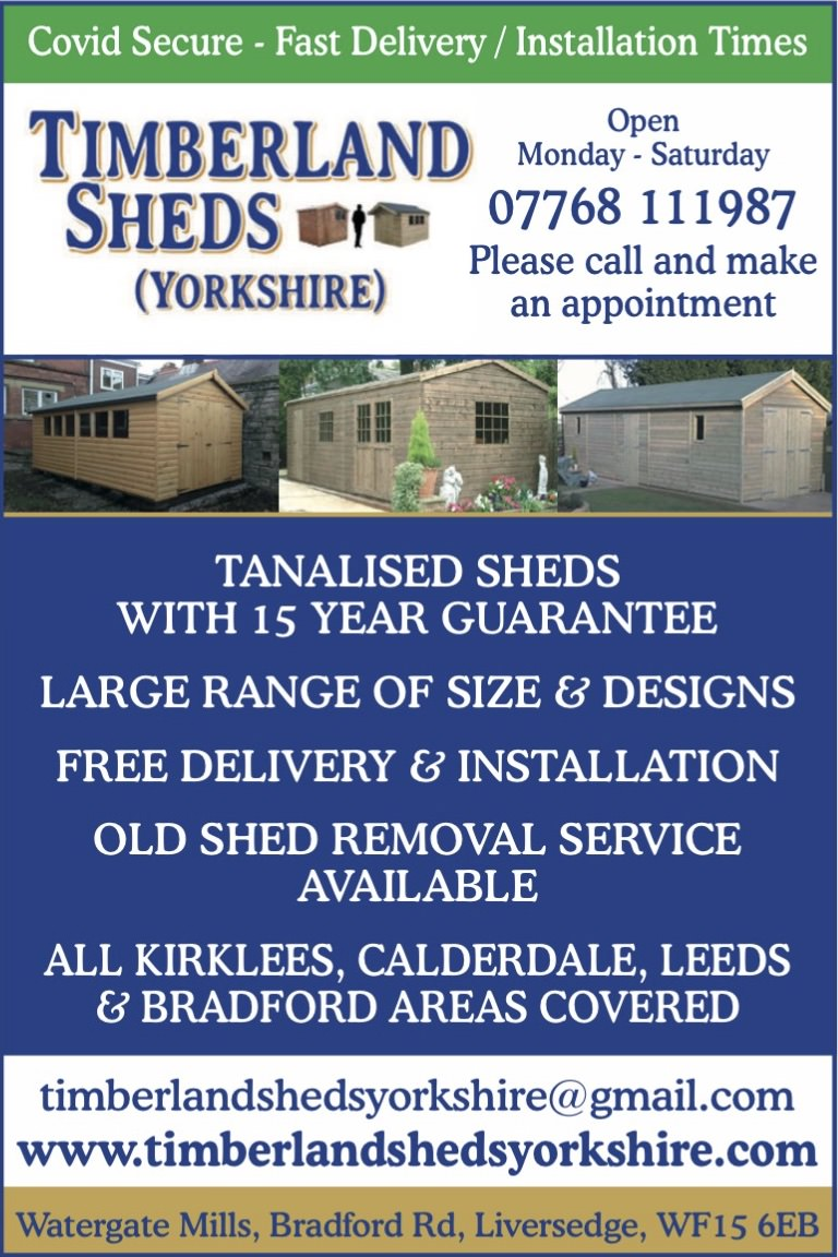 Timberland Sheds Yorkshire - Premier Outdoor Buildings